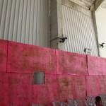 Gesto Concreto -  Instalação dos vidros laterais da Paróquia Santo Agostinho
